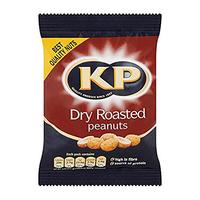 KP Dry Roasted Peanuts 24x50gr