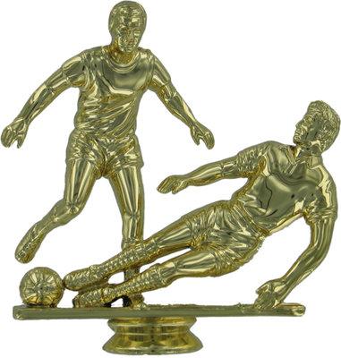 Soccer (Double Male) 110mm Plastic Figure