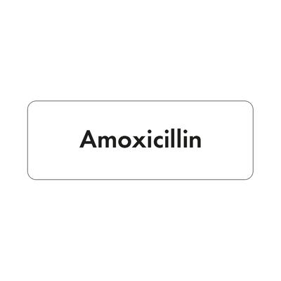 Purfect Syringe Drug Label (400) - Amoxicillin