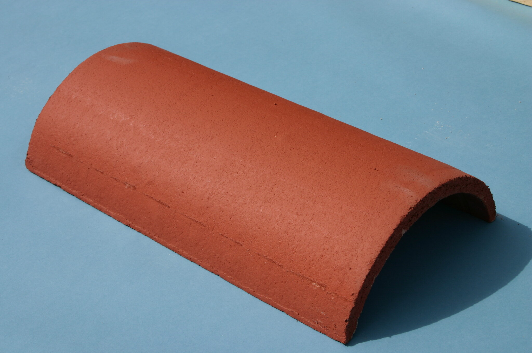 Half Round Ridge Hip Tile 450mm Brick Red