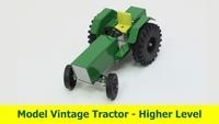 Junior Certificate Project Model Vintage Tractor 2020