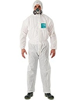 Ansell Microguard 1500 Plus Coverall, White