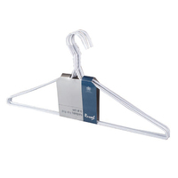 Russel White Wire Coated Hanger 6pk