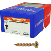 SCREWS POZI 4MM X 40MM BOX (200)