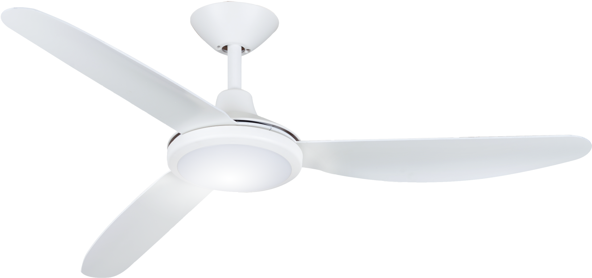 """Hunter Pacific Polar 48"""" DC with LED Light White Ceiling Fan"""