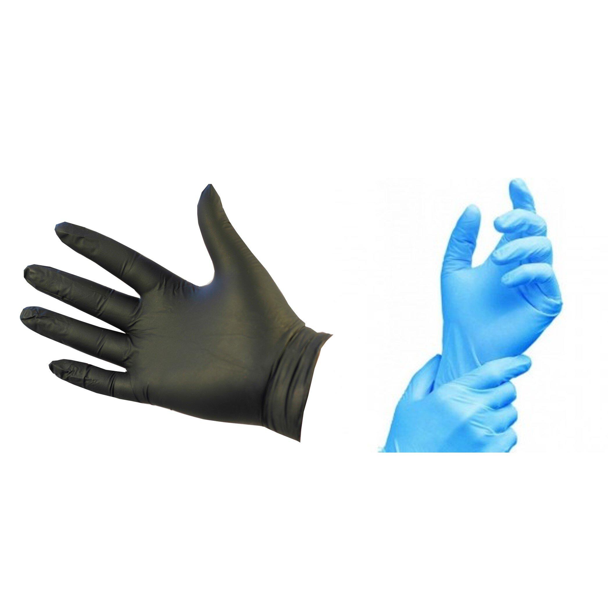 Nitrile Powderfree Gloves 100pk