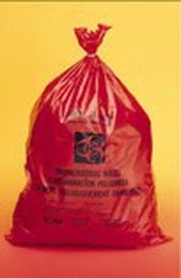 Disposal Bags Non Ster. Pe Biohazard 610