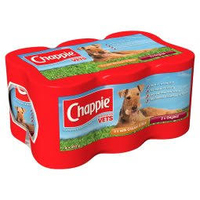 Chappie Cans - Favourites 412g x 6 x 4