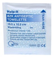 Antiseptic Non Alcohol Wipe (pack of 10)