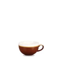 Monochrome Cinnamon Brown Cappuccino Cup 5.5x9.5cm 22.7Cl 8Oz Carton of 12