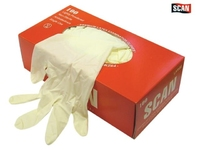 Scan     Latex Gloves (Box 100) Large