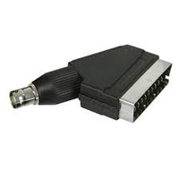 BNC Female to Scart Male Adapter