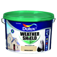 Dulux Weathershield Durrow Cream 10L