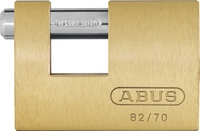 ABUS 82C63 BRASS SHUTTERLOCK
