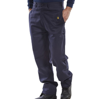 CLICK FR Trousers Navy