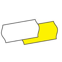 CT4 Price Label Yellow 45k Peelable