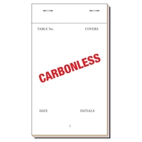 Check/Order Pad 50Sheet Tripl NCRCarbonless 165x95cm Boxof50