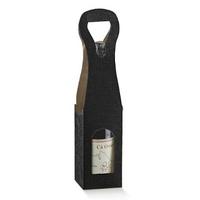Black Wine Box 90x90x410. (Pack of 10)