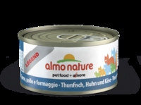 Almo Nature Legend Cat Cans - Tuna, Chicken & Cheese 70g x 24