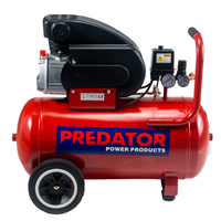 PREDATOR 2HP 50 Litre Direct Drive Air Compressor