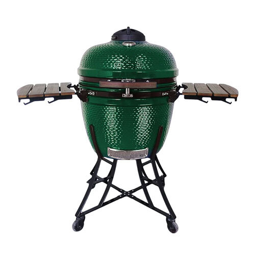 Kamado Media Classic 52cm BBQ Smoker - GREEN