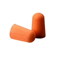 3M 1100 Uncorded Earplugs, 37 dB, Poly Bag (200 per pack)