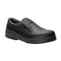 Bodytech Chicago, Slip-On Shoe, Black