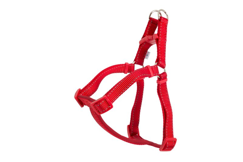 Ancol Red Padded Nylon Dog Harness - Small