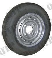 Wheel Rim c/w 165 x 13 Tyre (4 Stud) 5.5 pcd