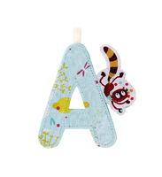 Lilliputiens Fabric Letter A Georges