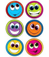 MEDIBADGE - GOOFY SMILES STICKERS