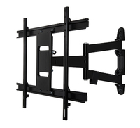 "B-Tech Wall Mount with Double Arm for Large screens up to 60"", 35Kg"