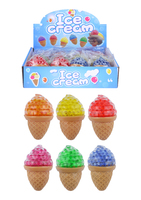 Squeeze Ice Cream with Beads.