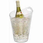 Salsa Wine Bucket Clear 198mm Diameter x 281mm Height