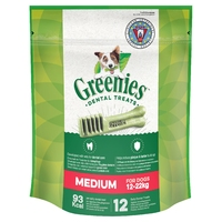 Greenies Original Dental Treats - Regular 340g x 1