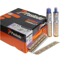 PASLODE NAILS FOR PPN35CI 141185, 35MMX3.4MM TWISTED ELGV, 2 FUEL CELLS, QUANTITY - 2,500