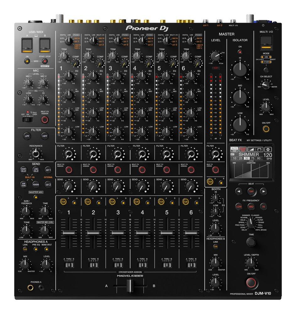 Pioneer DJ DJM-V10 6 Channel Professional High End Digital Mixer