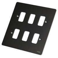 Ultimate GRID Black NIK GANG PLATE LV0701.1019