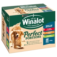 Winalot Pouches Perfect Portions - Mixed in Jelly 100g 12pk x 4