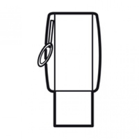 Arteor Key Fob For Switch -Magnesium  | LV0501.2536