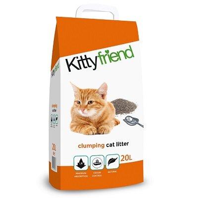 Kitty Friend Clumping 20L