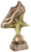 24cm Soccer Boot on Star & Ball