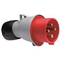 332P6 32A Plug 380V 4P IP44