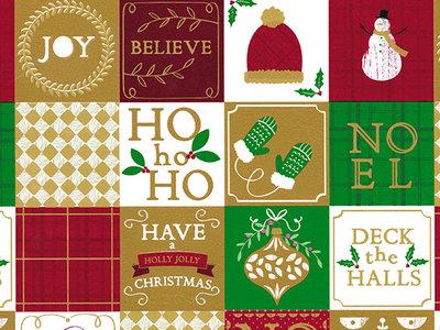 R28901B CHRISTMAS HOLLY JOLLY