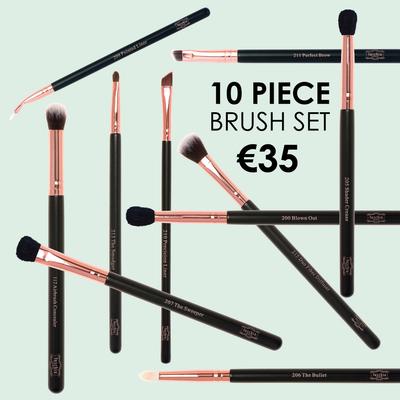 10 Pc Eye Brush Hamper