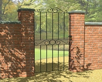 1.8m Ironbridge Tall Gate 810mm