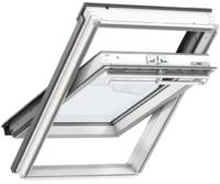VELUX WINDOW 660X1180MM WHITE PAINT FK06 2070 CENTRE-PIVOT (66 X 118 CM)