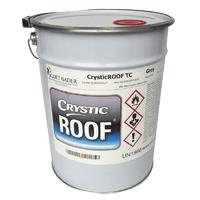 Crystic Roof Grey Top Coat 20kg