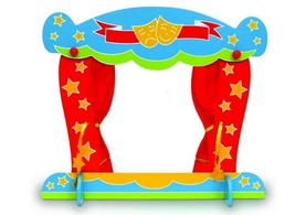 Wooden Finger Puppet theatre