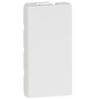 Arteor 1 Module Blanking Plate Square - White | LV0501.2856